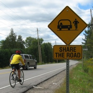 Share the Road Sue Shikaze